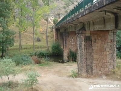 Hoces Río Duratón - Villa Sepúlveda; rutas montaña cerca madrid viajes de lujo